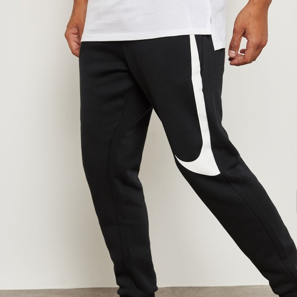 popular brand hot-selling genuine discover latest trends RARE Nike Hybrid Swoosh Joggers In Black Small Q24